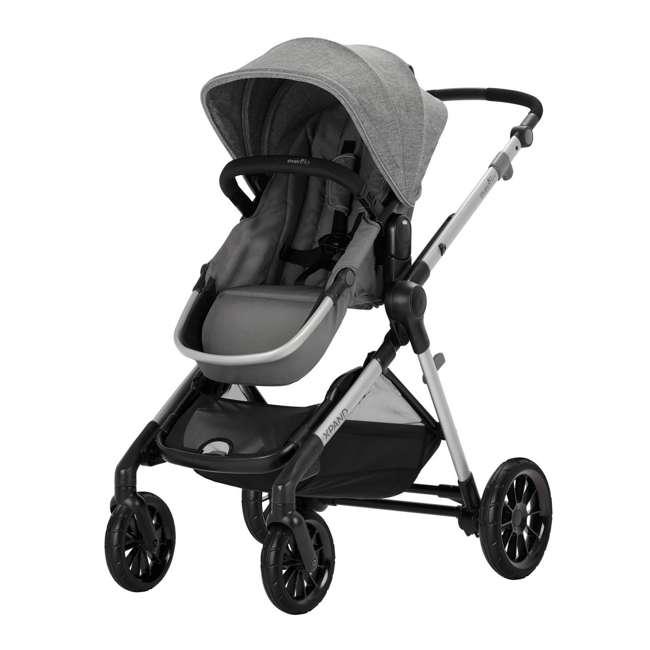 13812254 Evenflo Pivot Xpand Full Size Modular Convertible Baby Stroller, Percheron Gray 2
