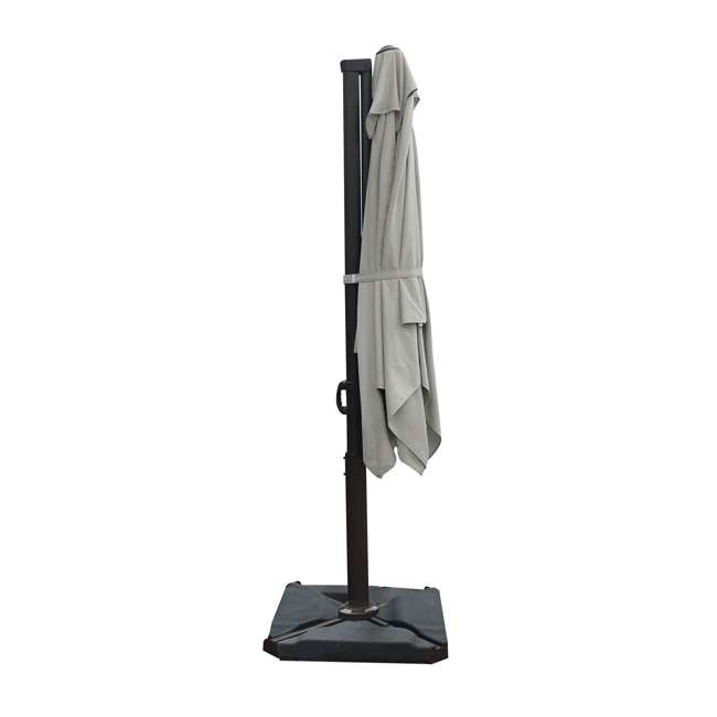 APNRC810SC Abba Patio 8 x 10 Feet Rectangular Umbrella, Sand 6