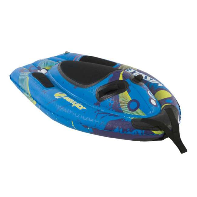 2000006924 (2) Sevylor Missile Sharkglide 1-Person Towable Water Tubes 1