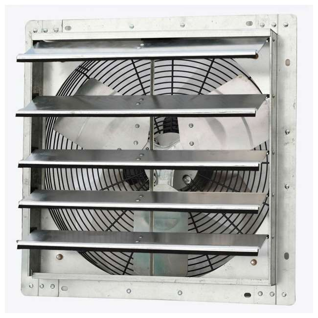 ILG8SF18V iLiving 18-Inch Variable Speed Wall-Mounted Shutter Exhaust Fan