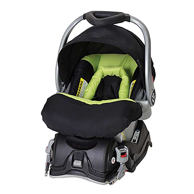 Baby Trend Ez Flex Loc Infant Car Seat Spring Green