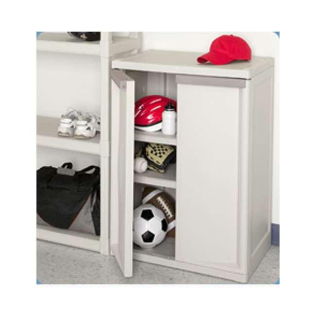 Sterilite 2-Shelf Cabinet - Sterilite 2-Shelf Cabinet : 01408501