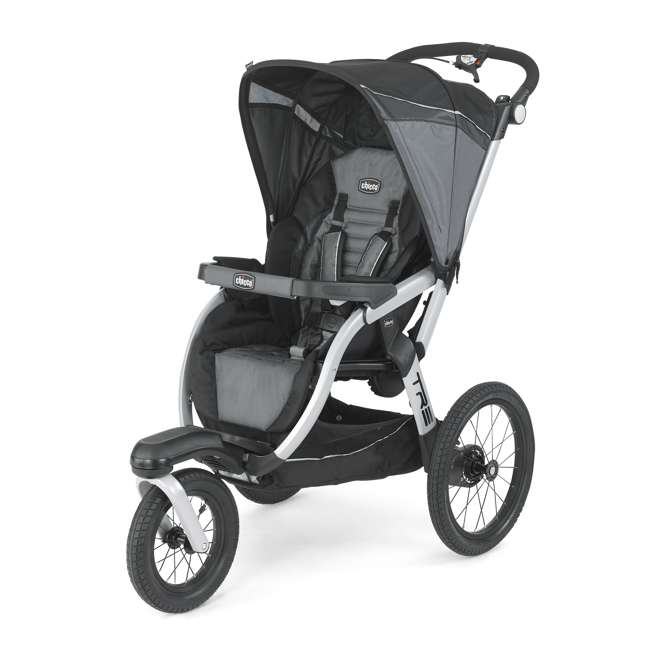 CHI-0707910384-OB Chicco TRE Lightweight Jogging Stroller, Titan (Open Box)