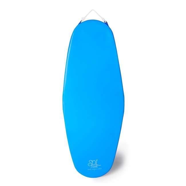 8050028 + 8050026 TRC Recreation Super Soft 70 Inch Foam Pool Float, Marina Blue and Bahama Blue 2