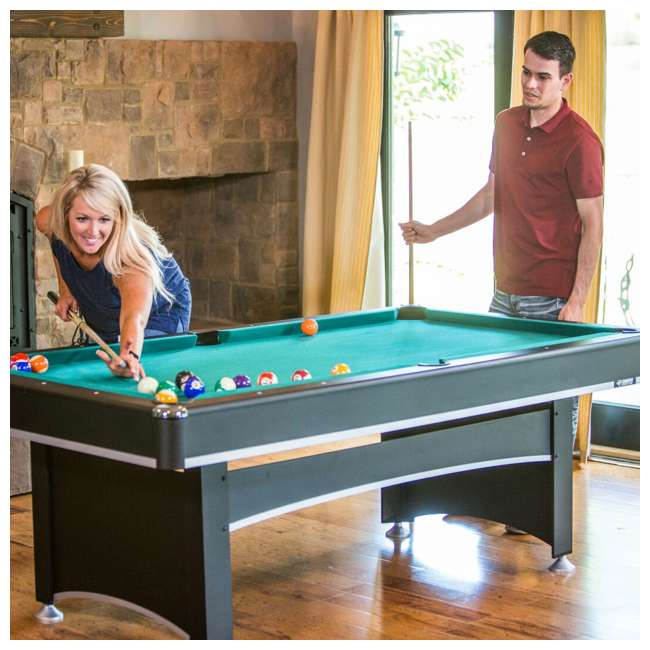 Triumph Phoenix 7 Foot Conversion Pool Table W/ Table Tennis Top