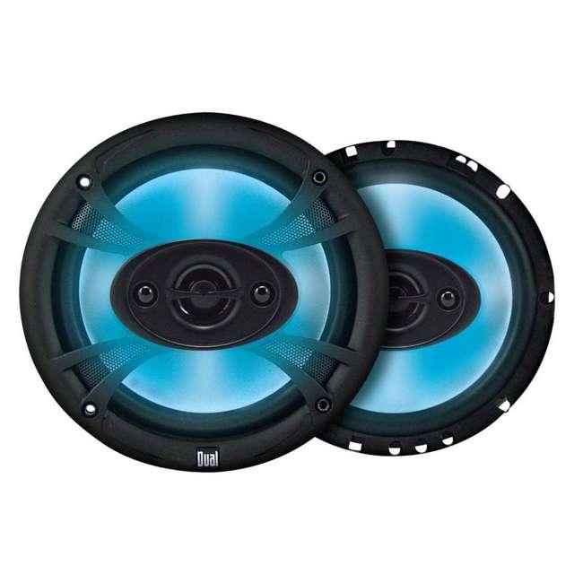 TS65 + TS69 Dual TS65 6.5-Inch 140W 3 Way with TS69 6x9 150W 3 Way Coaxial Speakers Neon Light 1