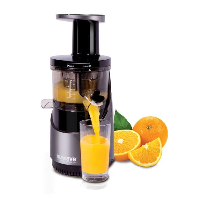 NW-27001-OB NuWave Nutri-Master Fruit & Vegetable Cold Press Juicer Machine(OPEN BOX) 1