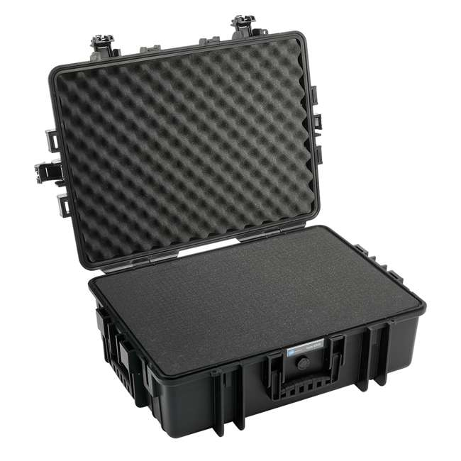 6500/B/RPD + CS/3000 B&W International 6500/B/RPD Hard Plastic Outdoor Case and Shoulder Carry Strap 3