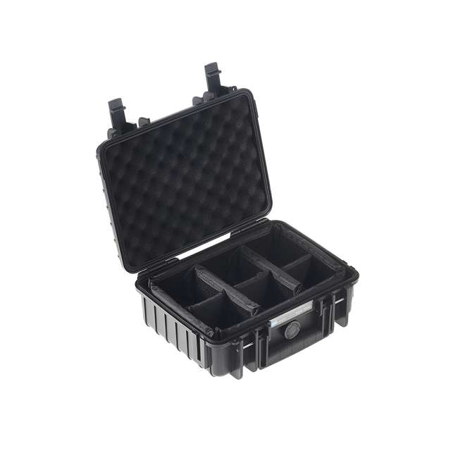 1000/B/RPD B&W International 1000/B/RPD Hard Plastic Outdoor Case with Removable RPD Insert 1