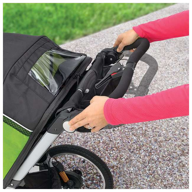 CHI-0707910384-OB Chicco TRE Lightweight Jogging Stroller, Titan (Open Box) 3