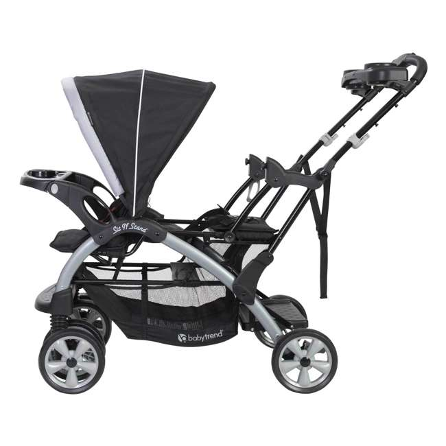 SS76B51A Baby Trend Sit N Stand Infant and Toddler Double Stroller 3