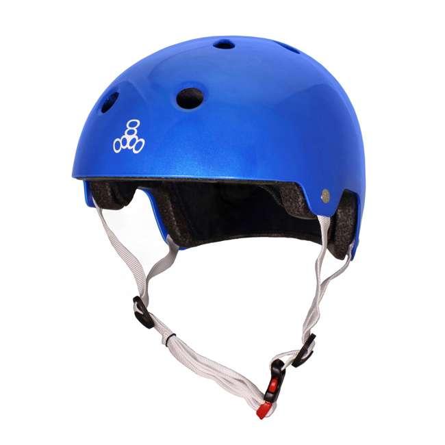 6 x T8-3070 Triple 8 Dual-Certified Skate and Bike Helmet with EPS Liner, Small/Medium (6 Pack) 1