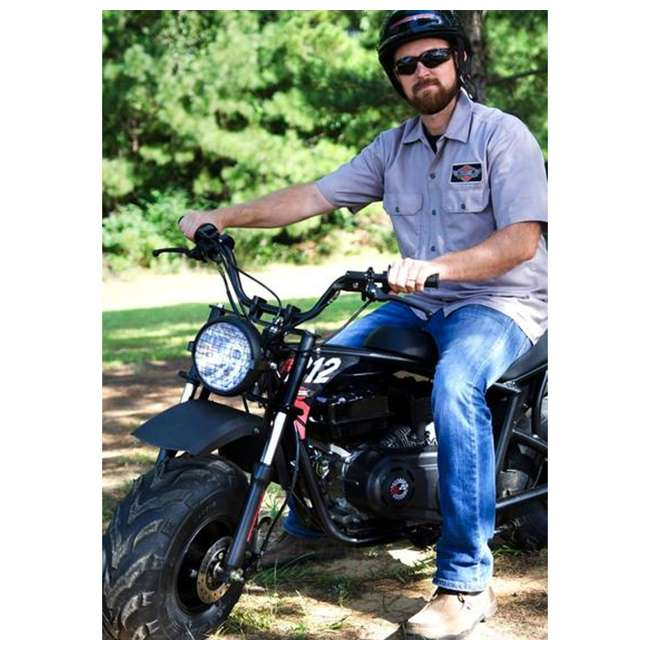 MM-B212-BR Monster Moto 212cc Gas-Powered Off-Road Mini Dirt Bike  4