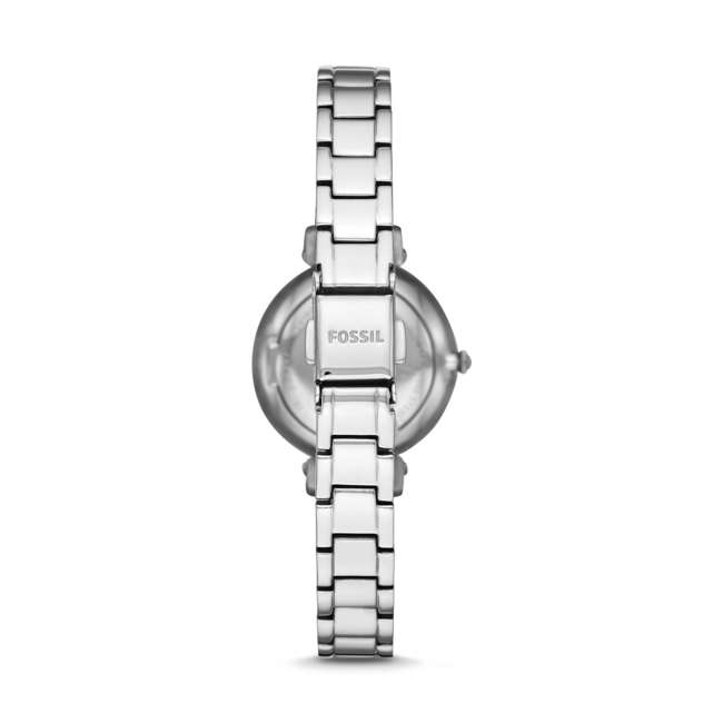 ES4448 Fossil The Kinsey 3-Hand Watch with Silver Bracelet & Face 2