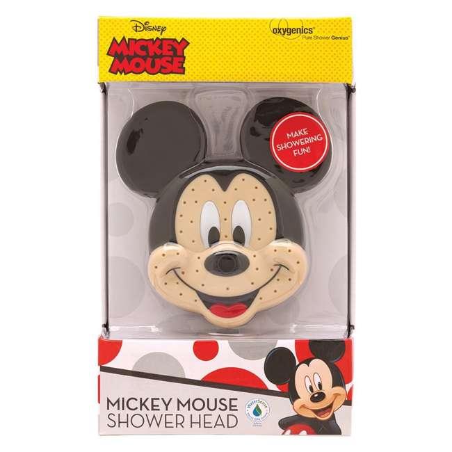 4 x 79268-MICKEYF Oxygenics Disney Mickey Mouse Fixed Shower Head (4 Pack) 4