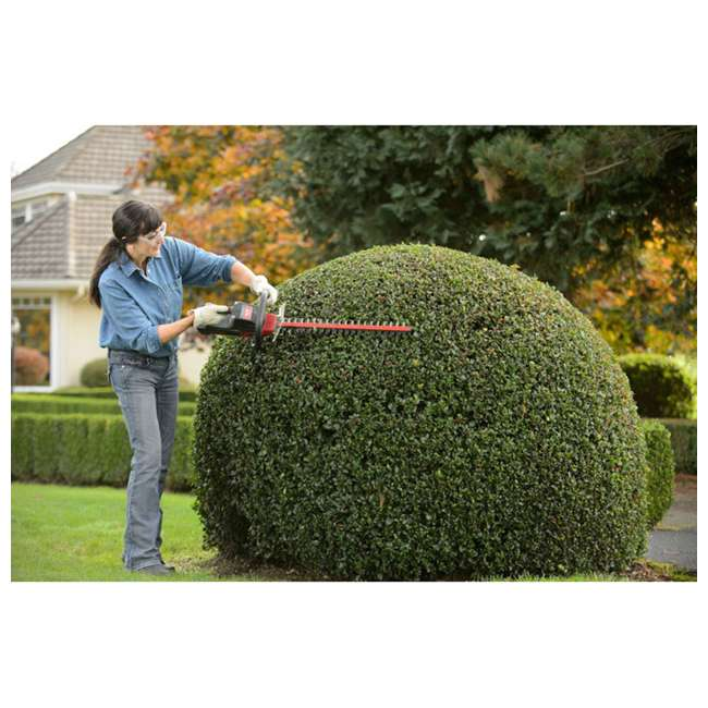 ORE-558812 Oregon HT250 24 Inch 40 Volt Cordless Hedge Trimmer with 2.4 Ah Battery Kit  3