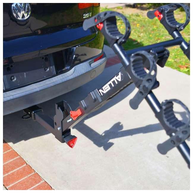QR555-U-C Allen Sports Premier 5 Bike Locking 2 Inch Hitch Carrier (For Parts) 4