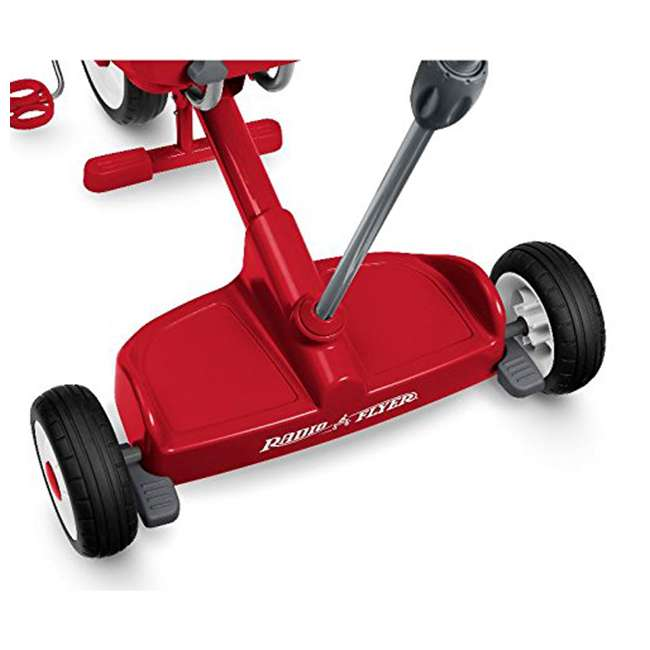499 Radio Flyer 499 Kids' Toddlers Ride and Stand Stroll 'N Trike, Red 2