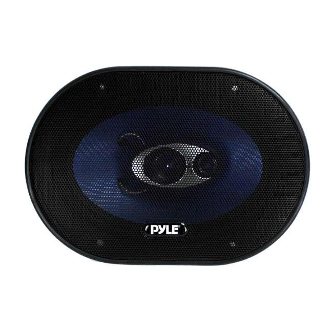 PL683BL Pyle PL683BL Blue Label 6x8-Inch 360W 3-Way Speakers (Pair) 2