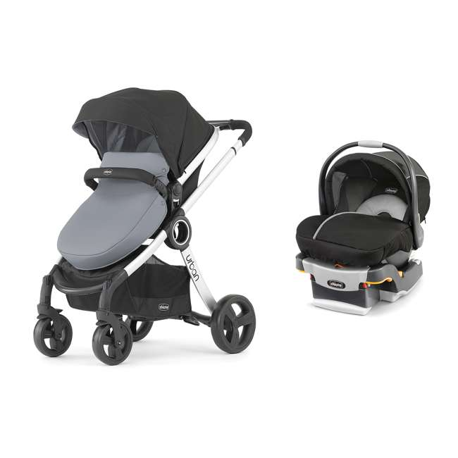 chicco 6 in 1 urban modular stroller infant car seat and base travel system chi 0607909922. Black Bedroom Furniture Sets. Home Design Ideas