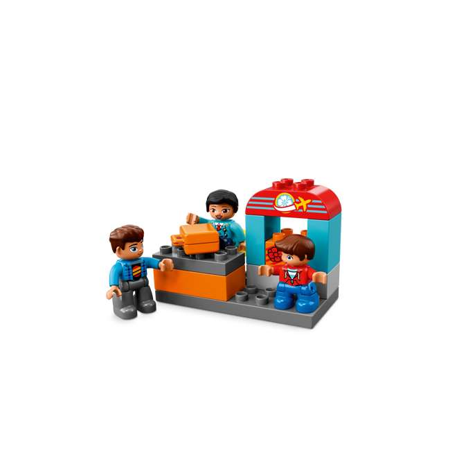 6213743 LEGO DUPLO 29-Piece Town Airport Travel Building Toddler Playset (2 Pack) 4