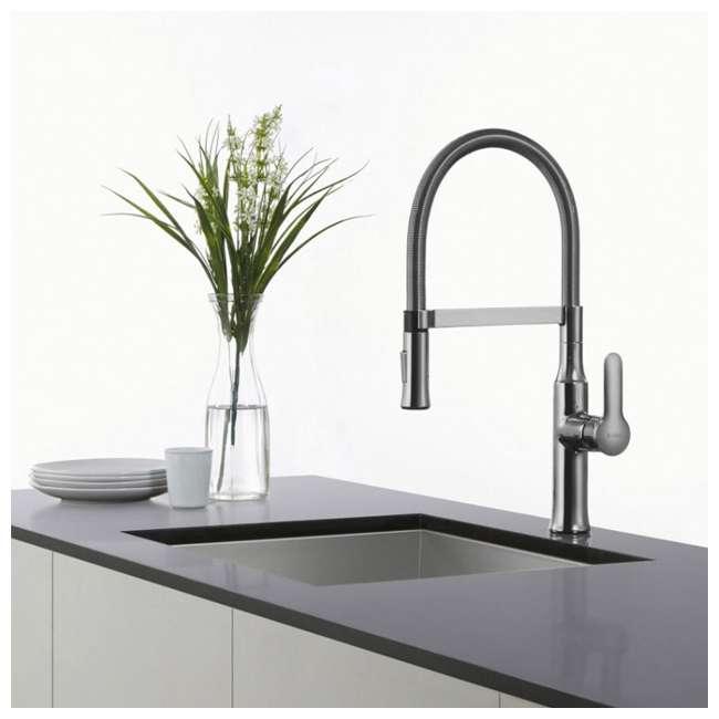 KPF-1640CH Kraus Nola Single Lever Pull-Down Kitchen Faucet, Chrome 4