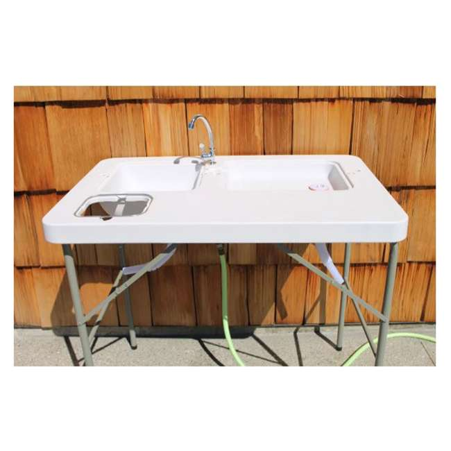 CCC-322 Coldcreek Outfitters Outdoor Washing Table and Sink for Camping, Fishing 1