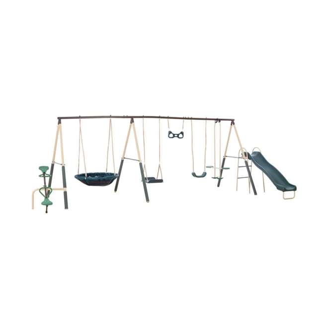 96665 XDP Recreation Deerfield 10 Child Capacity Kids Swing Set Playground (For Parts)