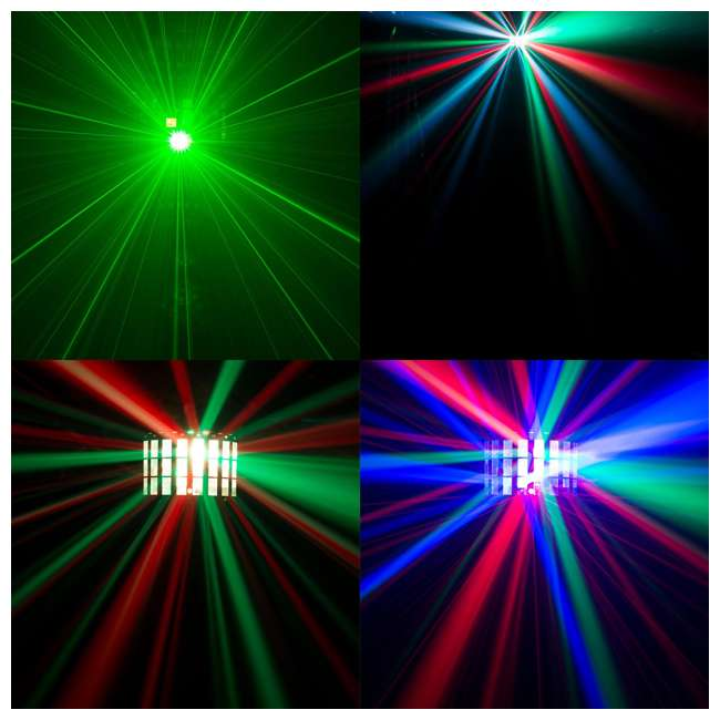 KINTA-FX + 2 x IRC-6 Chauvet DJ Kinta FX Multi-Effect Light (2 Pack) & Remote Control (2 Pack) 5