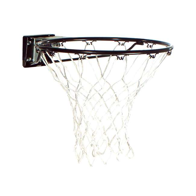 7801S Spalding Slam Jam Basketball Rim Red All-Weather Net Outdoor Play