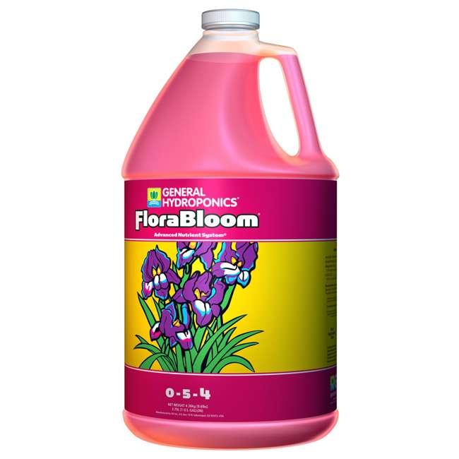 4 x GH1433 General Hydroponics Florabloom Formula 1 Gallon 128 oz (4 Pack) 1