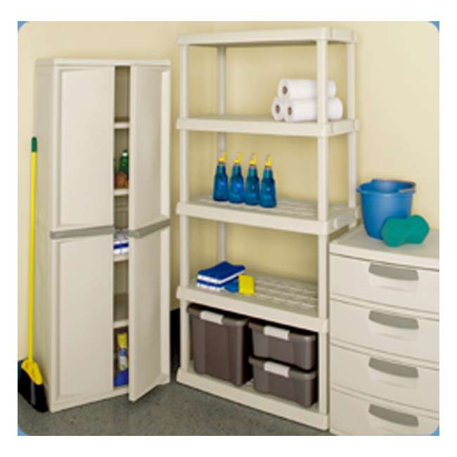 sterilite 4 shelf utility storage cabinet putty storage ideas rh directoryofsafelists com