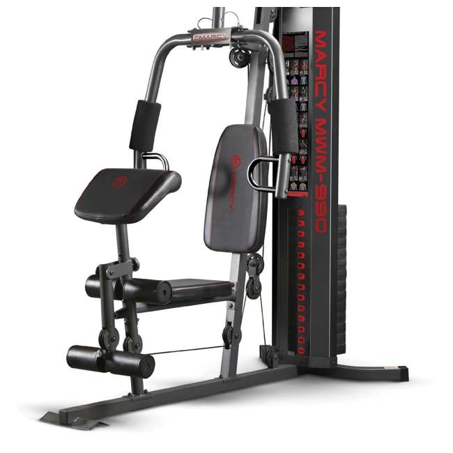 MWM-990-U-A Marcy Dual-Functioning Upper And Lower Body 150-Pound Stack Home Gym (Open Box) 2