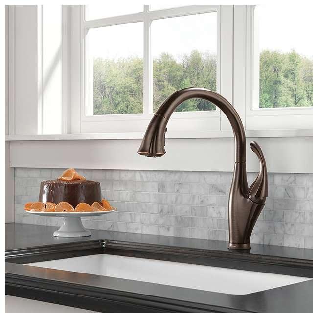 9192T-RB-DST Delta Addison Single Handle Kitchen Faucet, Venetian Bronze (2 Pack) 3