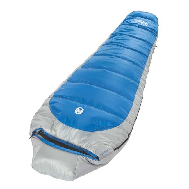 Coleman Silverton 15 Degree Sleeping Bag Klymit Static V