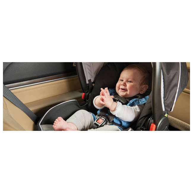 2080526 Graco Modes2Grow Baby Stroller & SnugRide Infant Car Seat Travel System, Kinley 8