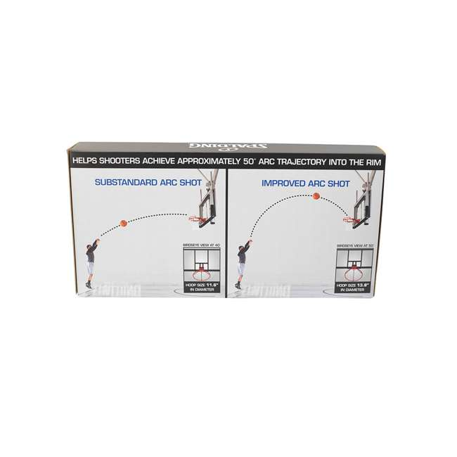 8475S Spalding Shot Arc 50 Degree Training Aid Steel for Indoor or Outdoor Use 4