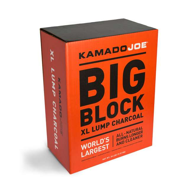 3 x KJ-CHAR Kamado Joe All Natural Big Block XL Premium Charcoal, 20 Pounds (3 Pack) 2