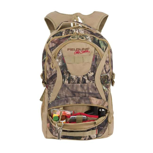 FCB018FLP-MBUC Fieldline Tree Line Womens Multi Pocket Camouflage Adjustable Hunting Backpack 4