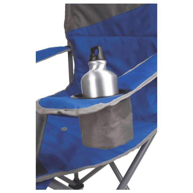2000026491 Coleman Big-N-Tall Oversized Quad Chair, Blue 4