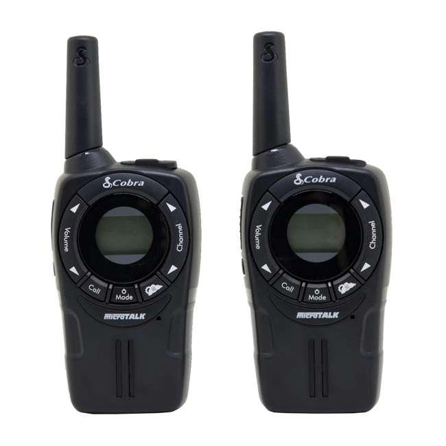 CXT235-2 + 2 x GA-EBM2-BULK Cobra CXT225 20 Mile Gmrs/frs 2-Way Radio Walkie Talkies (2 Pairs) + Headsets (4) 1