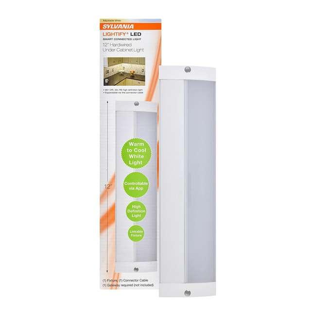 "SYL-71148-U-A Sylvania 12"" Convertible Alexa-Enabled Under Cabinet Light (Needs Hub)(Open Box) 1"