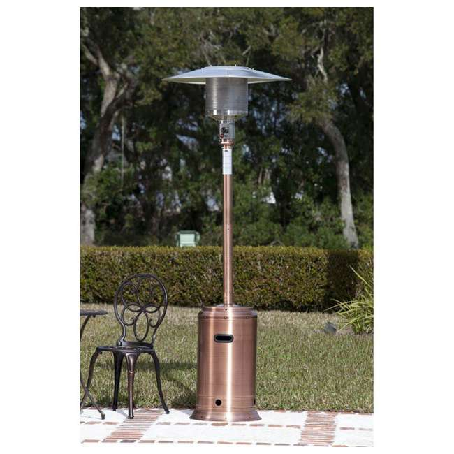 60688 Fire Sense Commercial Patio Heater, Copper Finish 1
