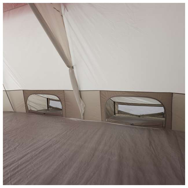 36423R + 840017 Wenzel Kodiak 9-Person Family Camping Tent with Insta-Bed Queen  5