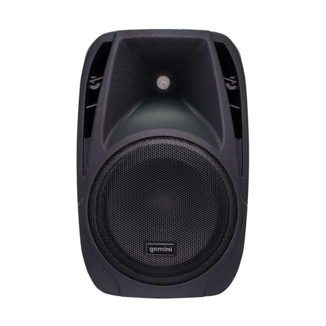 ES-210MXBLU Gemini ES-210MXBLU 10 Inch Passive Powered PA Speaker System 3