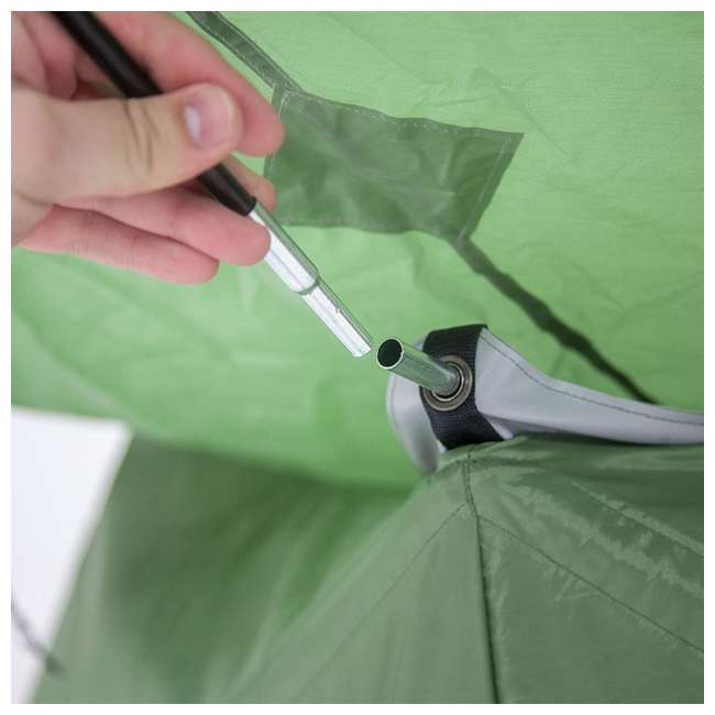 GAZL-30400-U-B Gazelle Tents T4 Pop-Up Hub 4-Person Outdoor Camping Tent, Green (Used) 1