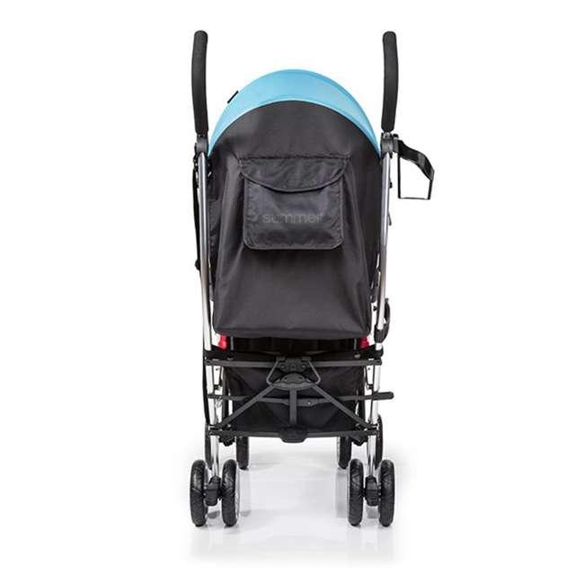 21840A Summer Infant 3Dlite 42 Inch Convenience Stroller, Caribbean Blue 1