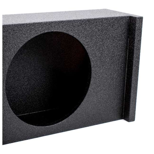 QBSUV12-VENTED-U-A Q Power 2-Hole 12-Inch Vented Subwoofer Enclosure for SUVs (Open Box) 2