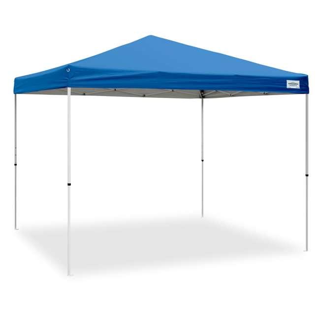 CVAN21007900020 Caravan Canopy V-Series 2 Pro 10' x 10' Straight-Leg Canopy, Blue (2 Pack) 1