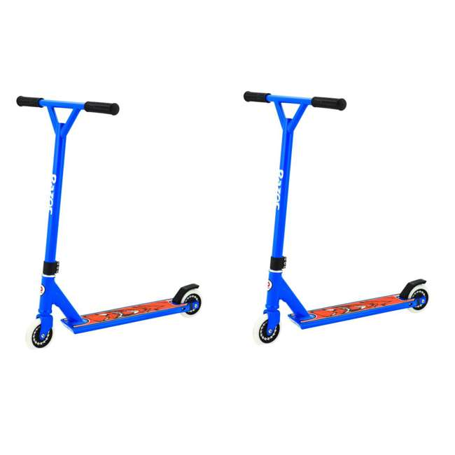 13018134 Razor Pro El Dorado Kick Scooter, Blue  (2 Pack)